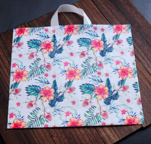Sac shopping PEHD/LDPE /Die-Cut sac en plastique avec poignée
