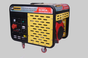 Honda originale Engine 10kVA Open Type Gasoline Generator
