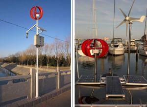 Grüne Energie Vawt 200W 12V 24V Wechselstrom-vertikaler Wind-Turbine-Wind-Generator