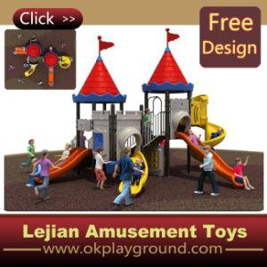 Les enfants d'Aventure Outdoor Diapositive de terrain de jeu (X1244-7)