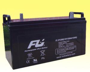 Batería de plomo ácido para el sistema solar (12V120Ah)