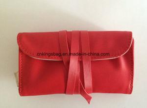 Padrão de seda chuva PU presente de promoção de Natal Bolsa jóias de Rolagem