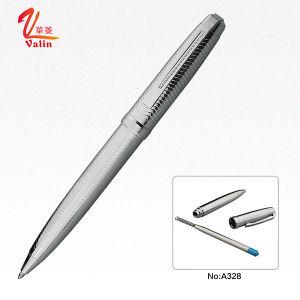 금속 선물 선전용 펜 인기 상품에 두꺼운 은 볼펜
