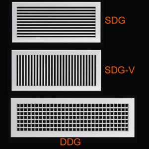 Double Deflection Grille (DDG, SDG, SDG-V)