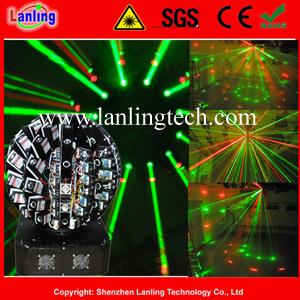 R&G 9W 72 объектив клуб диско лазерного шарик лампа освещения