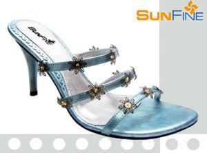 Ladies' robe sandale (SFL259-02)