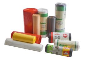 OEM 100% Compostable Ecoの友好的な食糧無駄のプラスチックごみ袋