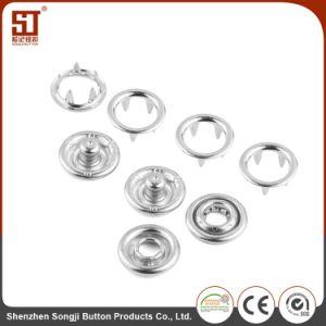 卸し売り簡単な円形のスナップの方法金属ボタン