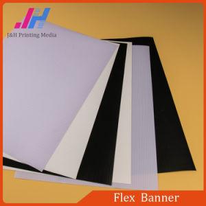 Volver negro Frontlit Flex Banner