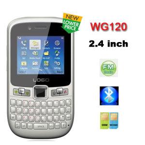 Wg120 2.4 'Telefoon van TV Java WCDMA van qvga de Dubbele Kaarten SIM