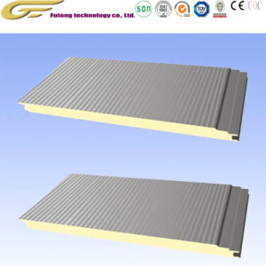 Замораживание зал строительный материал полиуретан PU Сэндвич панели изоляцией из пеноматериала