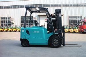 세륨을%s 가진 3 단계 4.5m Lifting Height 3.5ton Electric Forklift