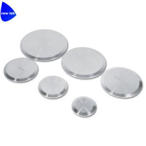 Il tri iso sanitario del trifoglio conclude la protezione in bianco (SS304/SS316)