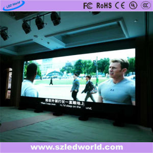 Écran LED fixe Slim/Intérieur Extérieur LED Afficheur vidéo (P3, P4, P5, P6 CARTE)