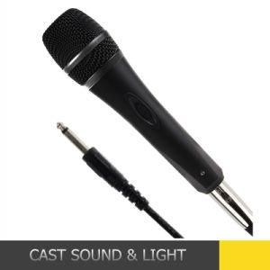 De Mano de metal mayorista micrófono dinámico vocal con cable
