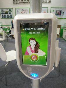 機械を白くする皿の歯を搭載する新しいMD885LのFDA及びセリウムによって証明される5inchタッチ画面