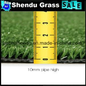 Falso de plástico de relva artificial Sintético 10mm com bom apoio para jardim e da paisagem e do futebol