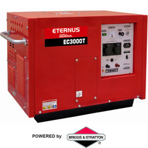 Homologação CE de 3KW 100% de cobre a gasolina Grupo Gerador (CE3000T)