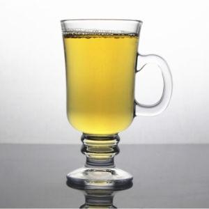 275mlアイルランドのガラスコーヒーかミルクまたはLatteまたはジュースのゴブレットのコップ(DC-IRL-275)