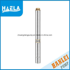3m3/H 370 W perforado de aceite de pozo profundo bomba sumergible 4st3