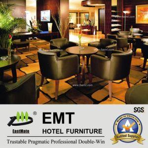Cuatro persona moderna mesa de comedor y una silla (EMT-R16).