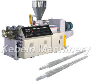 Plastiques Twin-Screw extrudeuse conique