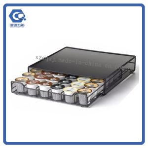 горячее сбывание 3-Tiered Multi-Использует шкаф держателя стручка капсулы кофеего провода металла