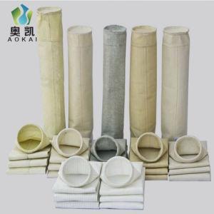 Nontissé Nomex Sac filtre de collecteur de poussière pour l'usine d'asphalte