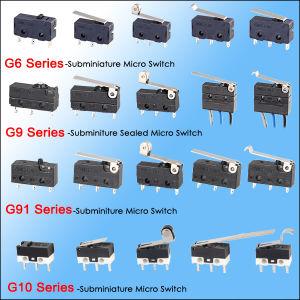 OEM & ODM Sealed Mini Micro Switch met Solder Terminals