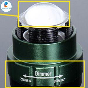 3つのモードの戦術的な小型高い発電明るいLEDの懐中電燈