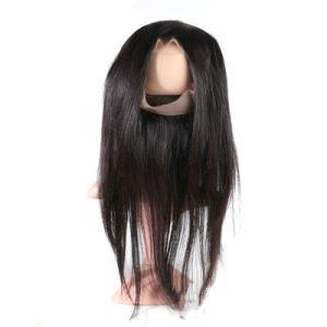 7A Indian Remy perruque de cheveux humains longue ligne droite