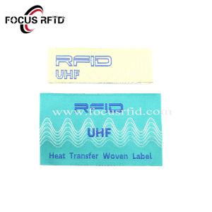 UHFRFID EPC Gen 2etiqueta tejidapara prendas de vestir y el seguimiento de la ropa
