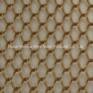 Het decoratieve MiniGordijn van het Netwerk van de Link van de Ketting van het Metaal voor de Verdeler van de Zaal