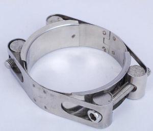 Morsetto di plastica del tubo delle fascette stringitube della piegatura dei morsetti di tubo dell'acciaio inossidabile