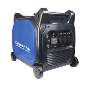 5.5Kw pequeña Mini gasolina generador arranque eléctrico de uso doméstico