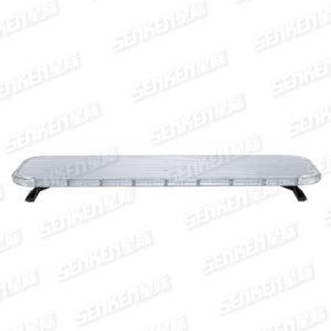 Amplia y ultracompacto rojo/azul/ámbar/LED de aluminio blanco con altavoz de la barra de luz de alerta de emergencia