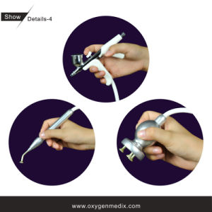 Microdermabrasion et machine de beauté d'oxygène (Oxyspa (II) et CD-1)