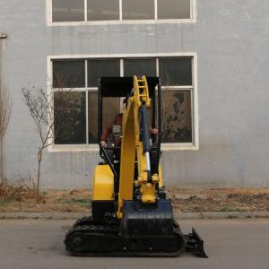 Mini escavatore Yh16 del cingolo con il piccolo raggio di di gestione