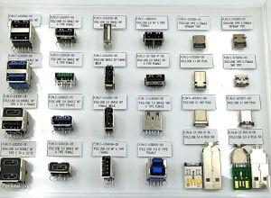 USB schreiben C weiblichen Verbinder, USB-Wenn Tid Nr. 200000253, Haltbarkeit: 10000 Schleifen, Datenübertragung: 480m/S. Nennbargeld: max. Material des Shell-5A: SUS304