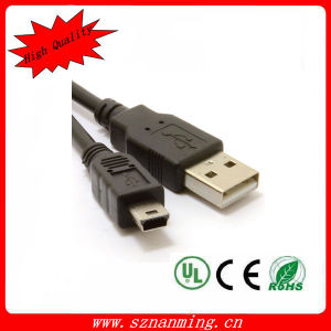 USB2.0 Mini USB 5pin Adapter Extension CableへのMale