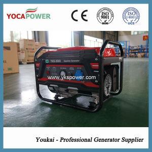 3Квт портативный открытия электрического питания бензин генератор