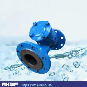 Ferro fundido/Ductle Filtrador Y de ferro com revestimento NBR/EPDM