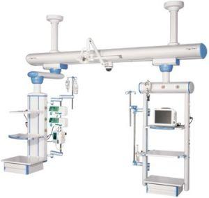 Sistema ferroviário na UTI do Hospital, seco e molhado combinadas M801Interconexão b