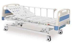 Cama de Hospital de tres funciones manuales