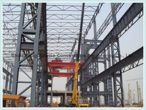 Un montaje rápido de fabricación de acero de construcción / Estructura de acero Quonset Almacén
