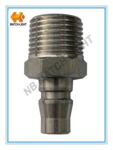 Connettore rapido pneumatico maschio dell'acciaio inossidabile del capezzolo