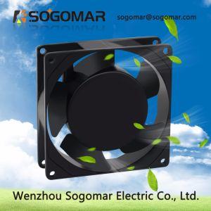El proyecto de ventilador 92x92x25mm con motor de Polo sombreado 36cfm 2800rpm