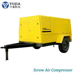 Fornitore a vite diesel mobile portatile resistente del compressore d'aria