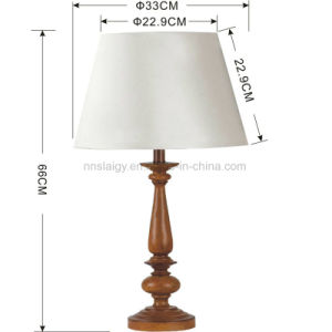 Pano de resina de estilo clássico candeeiros de mesa para decoração