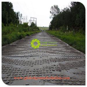 UHMWPE/PE van het polyethyleen Fabrikant van de Matten van de Weg van de Mat de Tijdelijke
